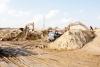 Dự báo, chưa đầy 15 năm nữa, nguồn cung cát tự nhiên sẽ cạn kiệt. Ảnh minh họa